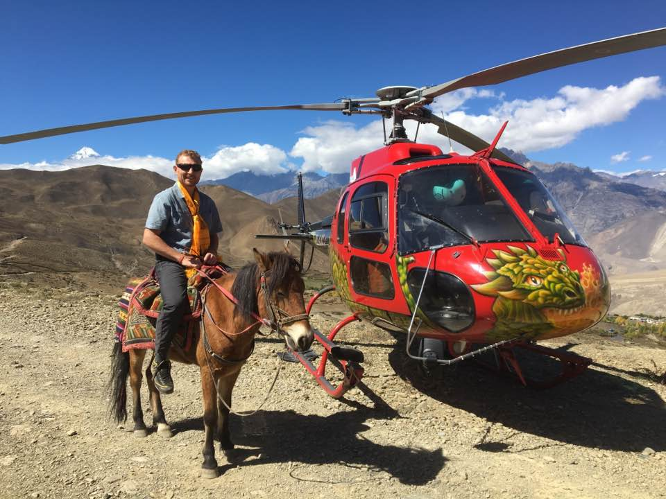 Heli tour to Annapurna