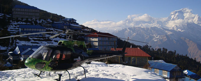 Poon Hill Heli Tour