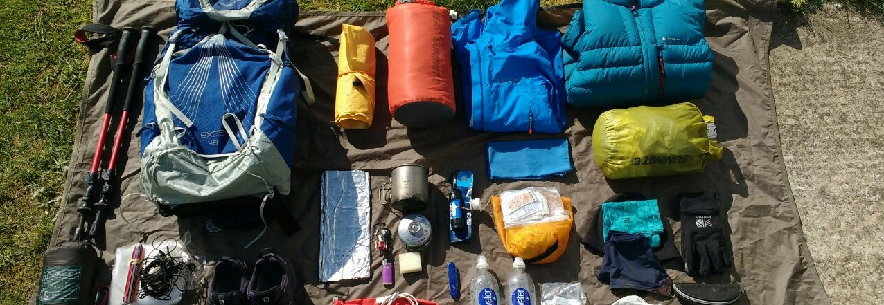 Clothing and equipment for Trekking