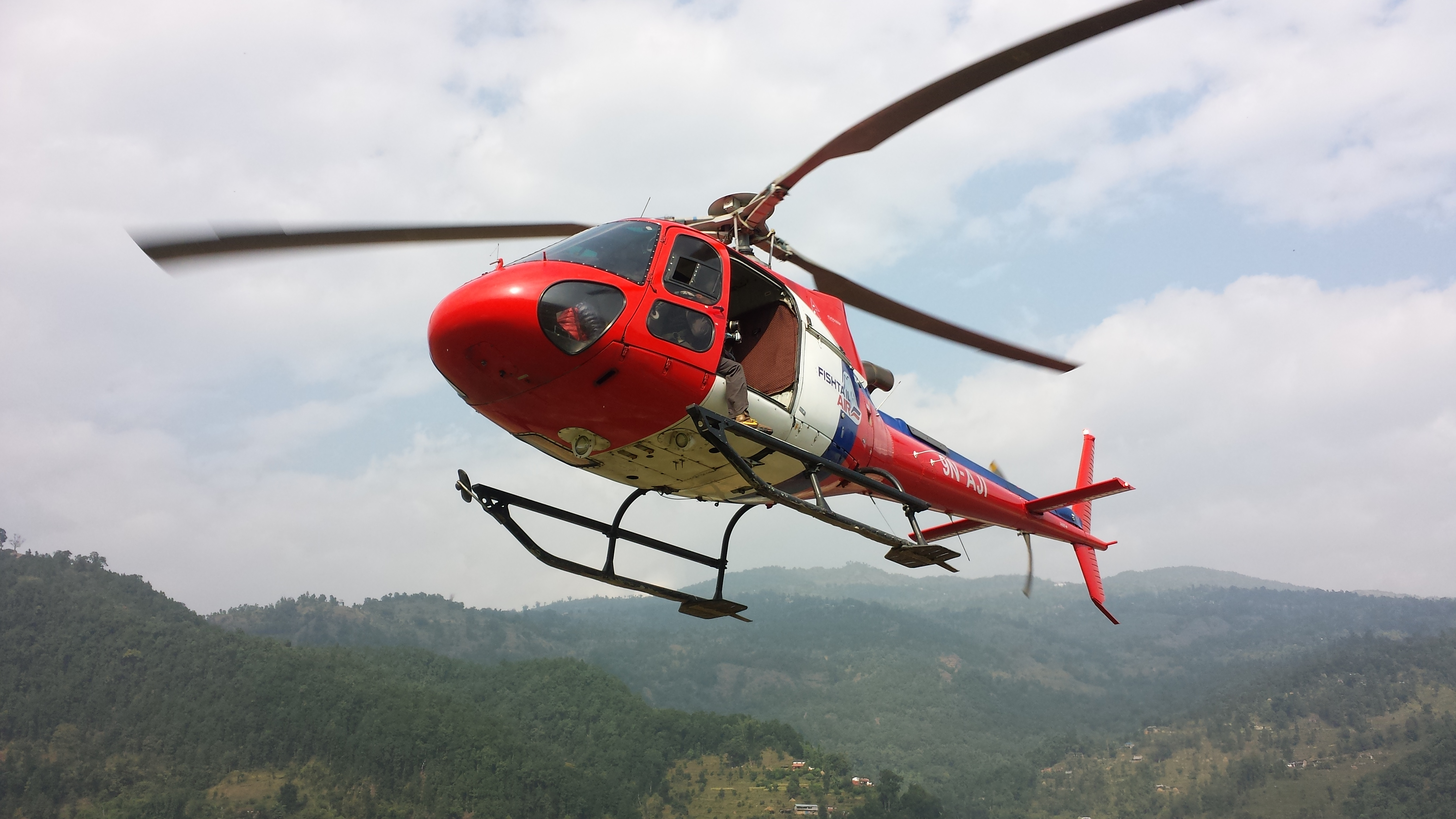Nepal Poon hill Helicopter Tour